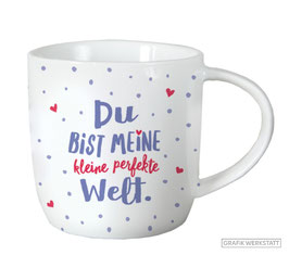 "Tasse Gute Laune ""Perfekte Welt"""