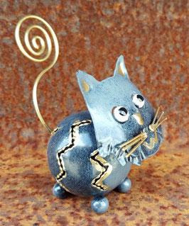 Tiere aus Metall mit Metallspirale