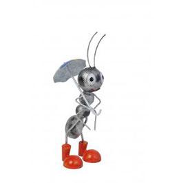 Ameise mit Regenschirm