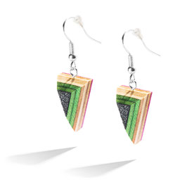 Skateboard Ohrringe / Earrings