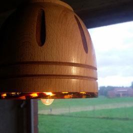 Lampenschirm mit Acetatrand