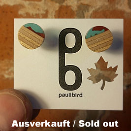 Acetat-Skateboard Ohrstecker