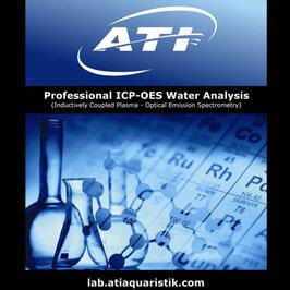 Analyse d'eau ICP-OES Laboratoire ATI