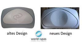 "Caldera Whirlpool Kopfstützen/Pillows ""Corner"" für Caldera Spas 2002-2008 & 2009+"