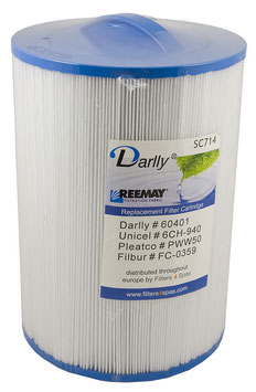 Filter Darlly SC714 Massagefilter Fonteyn Spas - Whirlpoolfilter