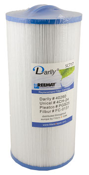Filter Darlly SC717 - Whirlpoolfilter LA Spas