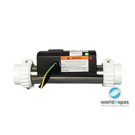 """Whirlpoolheizung LX 3KW, gerade, mit und ohne Sensorkabel, 1,5"""" Anschluss"""