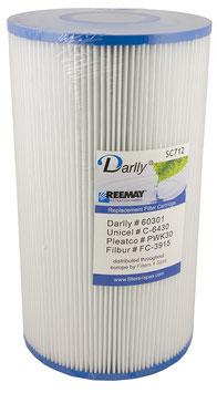Filter Darlly SC712/Whirlpoolfilter - Hot Springs