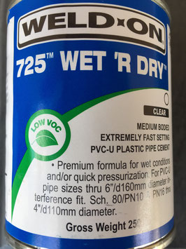 Weld On - PVC-U Spezial Leitungskleber