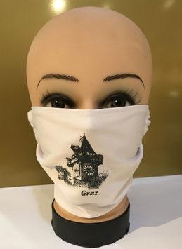 Mund-Nasen-Schutzmaske Baumwolle GRAZ UHRTURM