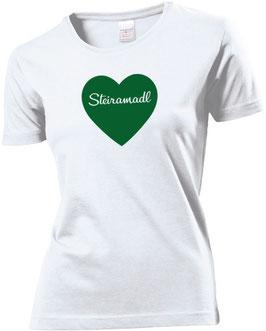 Steiramadl Herz T-Shirt - Steiermark