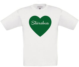 Steirabua KINDER Herz T-Shirt - Steiermark