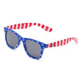 VANS Janelle Hipster Sonnenbrille blue/red