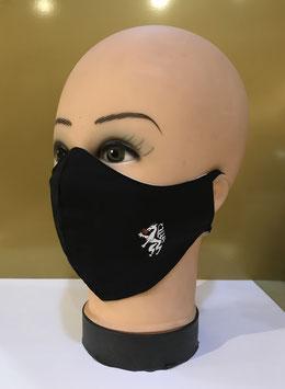 Mund-Nasen-Schutzmaske Baumwolle NINJA SCHWARZ STEIERMARK PANTHER