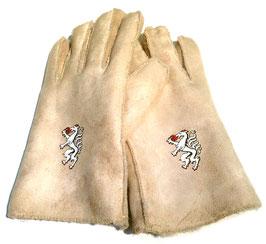 """Handschuhe """"steirisch"""" mit Steiermark Panther in Lederoptik"""