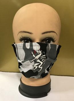 Mund-Nasen-Schutzmaske Baumwolle CAMOUFLAGE STEIERMARK PANTHER