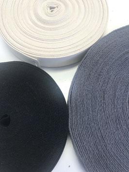 0,5m Gurtband, 3cm breit, 100% Baumwolle