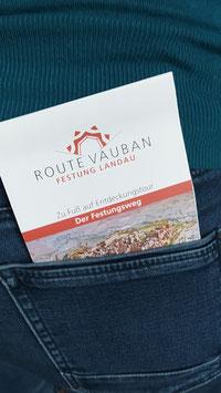 "Faltplan ""Route Vauban"""