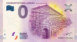 Null-Euro-Schein VAUBANFESTUNG LANDAU