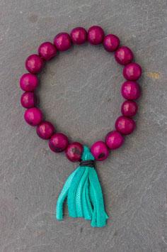 Bracelet tabay fuchsia