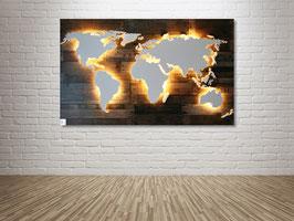 "Weltkarte ""Powell"" (diverse Größen)"