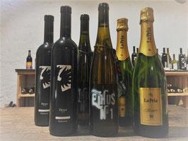 Naturbewusst Probierpaket,  6 Flaschen (2xEthos, 2xProsecco La Pria, 2xSeduttore) - Spezial Entdeckerpreis-
