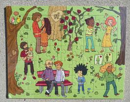 Puzzle für die Vielfalt
