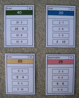 Bundle: 1x1 Lernspiele Kernaufgaben
