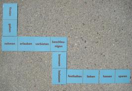 Verben-Domino: Gegenteile