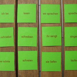 Verben-Memory: Präteritum - Infinitiv (starke V.)