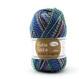 """Sockenwolle- Flotte Socke  """"Perfect Jacguard""""   4fach """"Farbe 1140"""""""