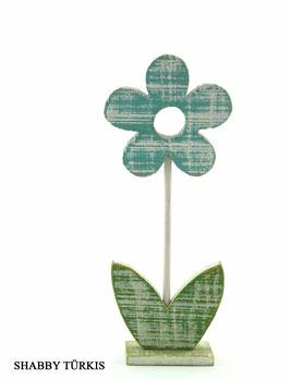 Deko Blumen aus Holz in verschiedenen  Ausführungen