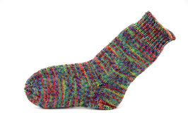 Socken- Handgestrickt Gr: 28-29  Fb: bunt meliert