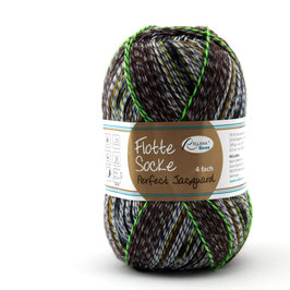 """Sockenwolle- Flotte Socke  """"Perfect Jacguard""""   4fach """"Farbe 1145"""""""