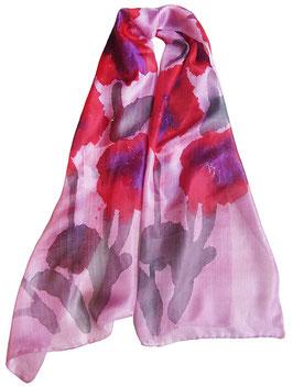"""Батик шарф """"Розовый оттенок"""""""