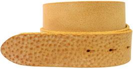 Gumpledergürtel Senf