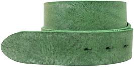 Gumpledergürtel Grün