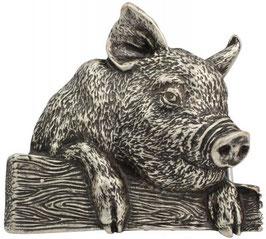 Gürtelschließe Schweinchen