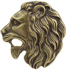 Gürtelschnalle Löwenkopf