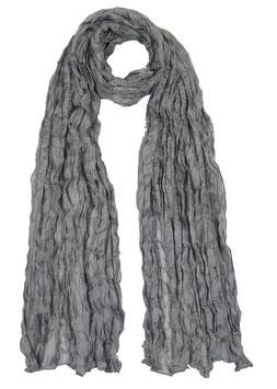 Seidencrash Schal 819784 Grey von Silkroad