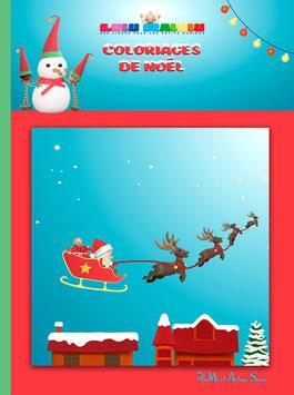 Livre de coloriages de Noël