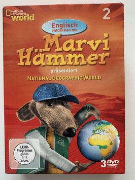 """3 DVD´s auf Englisch/Deutsch """"Marvi Hämmer"""""""