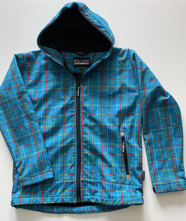 Softshelljacke (Blue Wave) Gr. 176