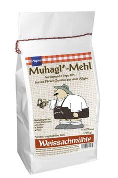 """""""Muhagl*-Mehl"""" - Weizenmehl Type 405 - 750g"""