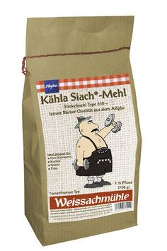 """""""Kähla Siach*-Mehl"""" - Dinkelmehl Type 630 - 750g"""