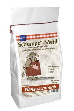 """""""Schumpe*-Mehl"""" - Weizenmehl Type 405 - 750g"""