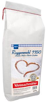 Roggenmehl Type 1150 - 2,5 kg