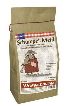 """""""Schumpe*-Mehl"""" - Dinkelmehl Type 630 - 750g"""