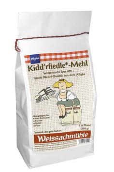 """Kidd'rfiedle*-Mehl"" - Weizenmehl Type 405 - 750g"
