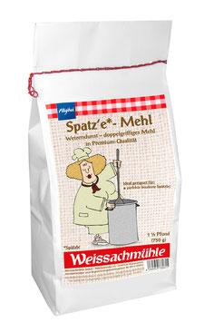 """Spatz'e-Mehl*"" - Weizendunst - 750g"